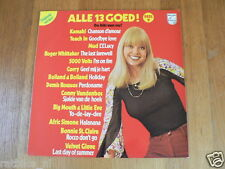 LP RECORD VINYL PIN-UP GIRL ALLE 13 GOED DEEL 9,SEXY NUDE  COVER CHEESECAKE LP