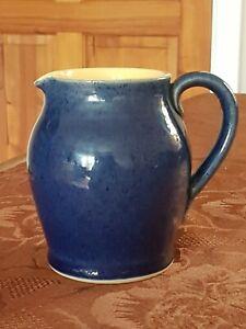 Denby Cottage Blue 1/2Pt Jug In V.G.C. FREE UK P&P