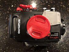 Olympus PT-056 Underwater Case for Tough TG-4 Camera - New Genuine Olympus Case