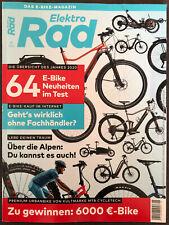 Elektro Rad 01-2020, Zeitschrift, Magazin, 1 x angesehen