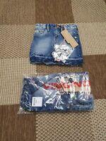 Name it Mädchen Sommerhose hellblau Gr.92-122 NMFDENISE PANT Haremshose Pumphose
