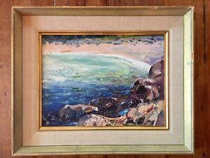 Arthur Lismer oil/panel 1955 Canadian Group of Seven Frank Johnston A.Y. Jackson