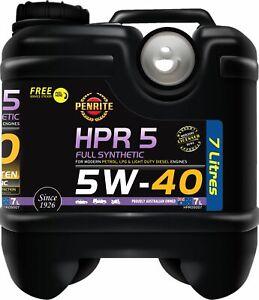 Penrite HPR 5 5W-40 Full Synthetic 7L fits Rolls-Royce Silver Seraph 5.4 (240kw)