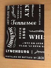 "Rare Jack Daniel's Embossed Gift Certificate Wallet  ""BN"""