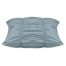Emma Soft Blue Ruffled Cushion Cover 45 x 45