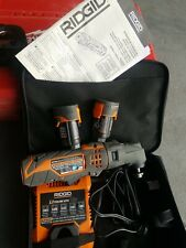 Ridgid 12V R8223400 JobMax TOOL       2 BATTERIES + CHARGER W/Soft Case , EXCE