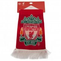 Liverpool Football  Supporters Retro Bar Scarf Red White Striped Fan Gift