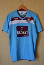 RARE WEST HAM UNITED 2008 2009 AWAY football shirt jersey umbro Small