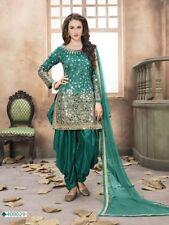 punjabi patiala suit indian salwar kameez designer party wear heavy mirror work