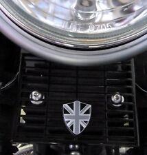 Triumph pointés Thruxton Bonneville Régulateur Couverture Union Jack en aluminium