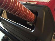 """Honda EU3000is Inverter Generator 1-1/2"""" exhaust extension (8 foot)"""