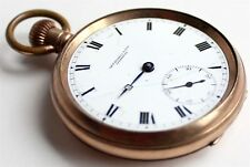 ANTIQUE - Gold Plated - POCKET WATCH - Vintage - Thomas Russell - Liverpool - UK