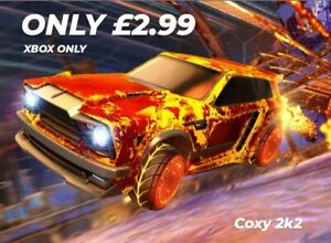 Rocket League Fennec for XBOX ONLY - REDUCED FOR OCTOBER ONLY!