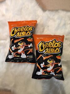 Lotte Cheetos Spicy & Sweet Flavour Korean Snack Addictive Delicious 2 x 82g 치토스