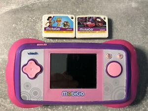 VTech MobiGo + 2 Lernspiele Toy Strory 3 & Cars