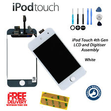 NEW LCD & Touch Screen Assembly FOR iPod Touch 4th Gen (A1367) WHITE +FREE Tools