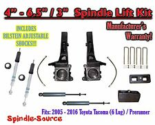 "2005 - 2016 Toyota Tacoma Prerunner 6.5"" / 3"" LIFT Kit, Bilstein 5100 Shocks, rs"