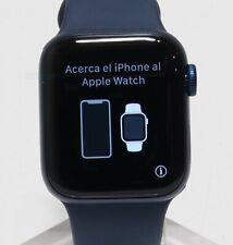 Apple Watch Series 6 Aluminum Case 40mm (GPS) MG143LL/A Blue & Deep Navy Sp Band
