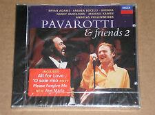 LUCIANO PAVAROTTI & FRIENDS 2 (BRYAN ADAMS, BOCELLI) - CD SIGILLATO (SEALED)