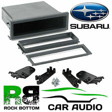 Subaru Impreza WRX 1993-05 Car Stereo Radio Universal DIN E Fascia Facia Pocket