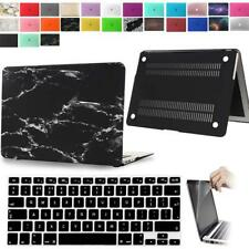 "Rubberized Case Cover + Keyboard Skin + Screen Protector For MacBook Air 11""/13"""