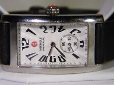 Big Luxury Classic Curvex Sapphire Crystal $1495 Michele Urban Park Swiss Watch