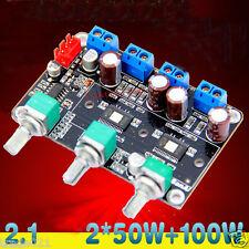TPA3116 2.1CH DC12V-22V 2*50W+100W HIFI Digital Subwoofer Amplifier Board