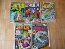 Incredible Hulk Annual 16, 17, 18, 19, 20 US MARVEL very fine-NEAR MINT