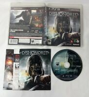 Dishonored PlayStation 3 PS3 TESTED DISC CIB COMPLETE FAST SAFE TRACKED SHIPPING