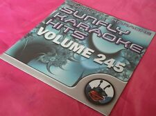 Karaoke CD+G disc, Sunfly Hits Vol 245, see Description 15 tracks/arts