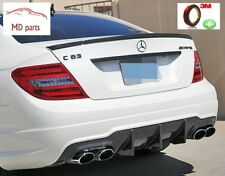 Mercedes Benz C204 Coupe C180 - C63 AMG Carbon Heckspoilerlippe / Abrisskante