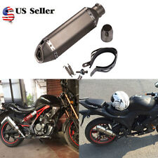 51mm  Motorcycle Bike Exhaust Muffler  DB Killer Slip on Dirt Pit Bike Scooter