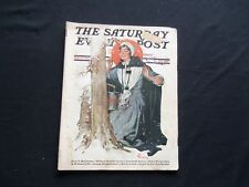 1928 FEBRUARY 25 THE SATURDAY EVENING POST MAGAZINE - ILLUSTRATED COVER -SP 1308