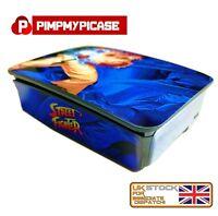 Raspberry Pi 3 (Skin only) Street Fighter Blue (Use pi 3 case) Retropie + Kodi