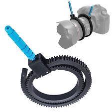 Einstellbare Getriebe Follow Focus-RingGurt für DSLR-Kamera-Zoomobjektiv Sc Q7M8