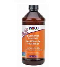 Now Foods Sunflower Liquid Lecithin (473ml)