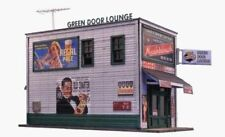 "Blair Line (N-Scale) #1008 ""GREEN DOOR LOUNGE"" * Wood Laser cut Kit - NIB"
