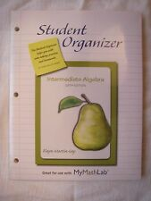 Student Organizer for Intermediate Algebra by Elayn Martin-Gay  6th. ed.