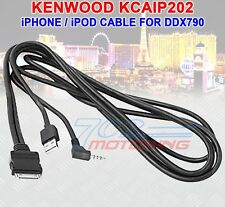 KCA-IP202 I-PHONE / POD CABLE AUTHENTIC KENWOOD