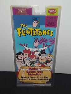 Vintage! The Flintstones Modern Stone-Age Melodies Cassette Tape STILL SEALED!