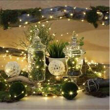 2M 20Leds String Light Lamp Christmas Wedding Party Garden Decor Outdoor Fairy