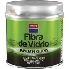 MASILLA DE RELLENO PARA BRICOLAJE FIBRA DE VIDRIO + ENDURECEDOR KRAFFT 250GR.