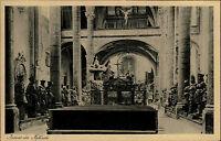 INNSBRUCK um 1920 Österreich Tirol Inneres Hofkirche Kirche Innenansicht alte AK