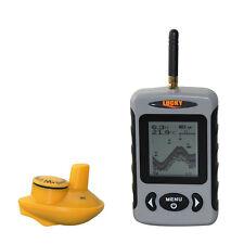 Lucky FFW718 Sans fil Détecteur De Poissons Alarme 40M/36,6 m Sonar Portable A2