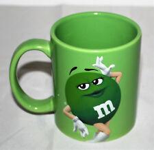M&M M&M'S Smarties Kaffee Becher Tassen mit Henkel Cafe grün Dame Frau NEU