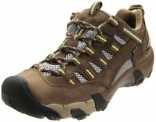 Keen Alamosa WP Brown Green Waterproof Hiking Shoes Women's Sneakers Size 8 new