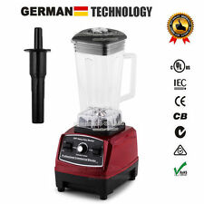 Commercial Home Smoothies Power Blender Food Mixer Fruit Processor 3HP BPA 2200W