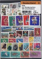 DDR ALLEMAGNE ORIENTALE 100 TIMBRES TOUS DIFFERENTS