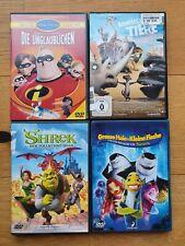 Kinder DVD Paket, Sammlung, Konvolut, Filme, Videos