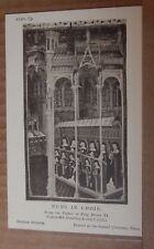 Postcard British Museum Collection Henry VI Psalter Nuns In Choir